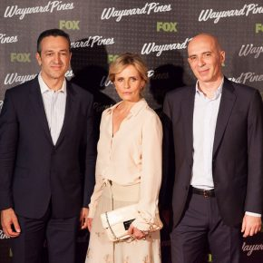 WAYWARD PINES: tanti vip all'anteprima mondiale della serie tv Fox 32 WAYWARD PINES: tanti vip all'anteprima mondiale della serie tv Fox