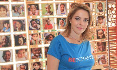 Claudia Gerini in visita al Villaggio Save the Children per l'iniziativa contro la malnutrizione e al mortalità infantile 20 Claudia Gerini in visita al Villaggio Save the Children per l'iniziativa contro la malnutrizione e al mortalità infantile