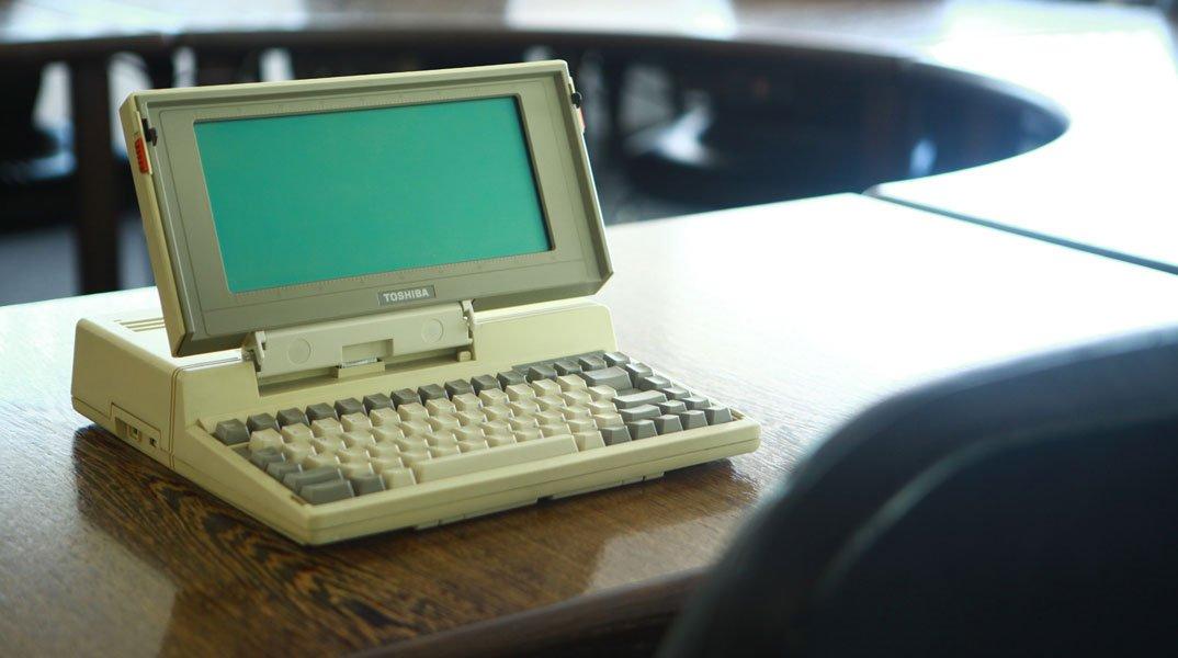 Toshiba celebra i trent'anni dal lancio del primo notebook al mondo 9 Toshiba celebra i trent'anni dal lancio del primo notebook al mondo