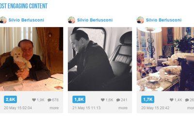 Berlusconi sbarca su Instagram ed è subito Boom 16 Berlusconi sbarca su Instagram ed è subito Boom