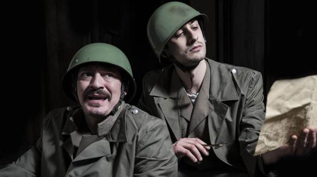 "rosario petix piero cardano - ""La guerra grande"", applausi a scena aperta al Teatro India"
