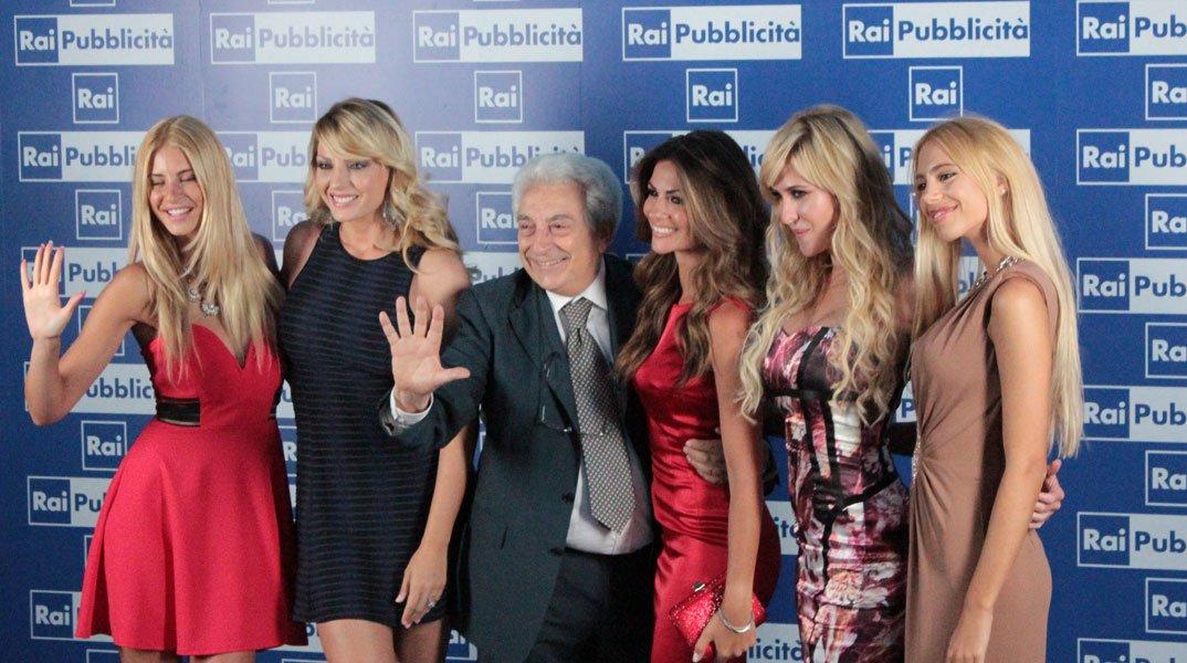 Michele Guardì con Jas & Jay, Alessia Ventura, Elena Ballerini e Manila Nazzaro