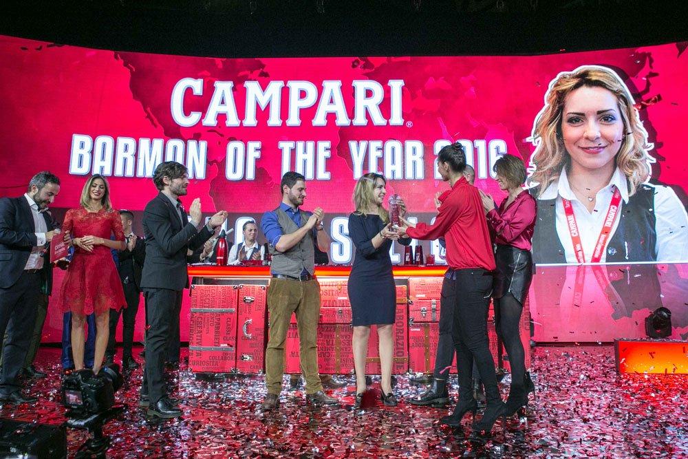 Luana Bosello si aggiudica il titolo di Campari Barman of the Year 2016 6 Luana Bosello si aggiudica il titolo di Campari Barman of the Year 2016