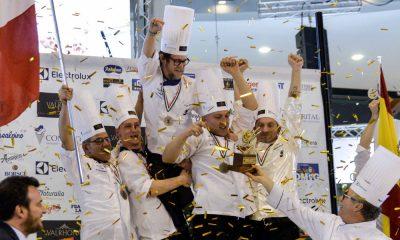 Italia campione del mondo di Gelateria al SIGEP 19 Italia campione del mondo di Gelateria al SIGEP