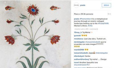 """Instagram Fashion Index """"Day 2"""": Prada conquista tutti 24 Instagram Fashion Index """"Day 2"""": Prada conquista tutti"""