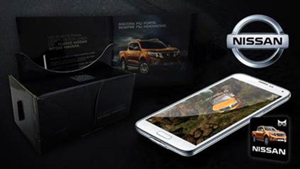 nissan - Nissan lancia la realtà virtuale immersiva per l'auto