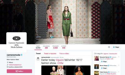 """#MFW e Twitter per una settimana della moda """"senza filtri"""" 22 #MFW e Twitter per una settimana della moda """"senza filtri"""""""