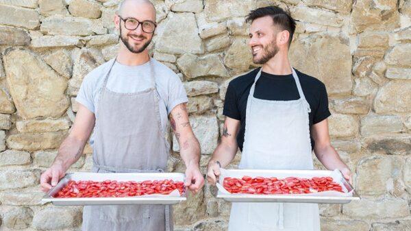 Stefano Paleari e Riccardo Casiraghi di Gnambox 600x337 - Pasqua, secondo 8 esperti su 10 sulla tavola degli italiani trionferà la dieta mediterranea