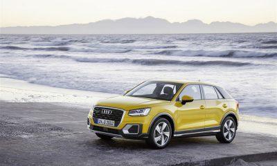 Audi Q2: un SUV urbano, agile e con un nuovo linguaggio stilistico 56 Audi Q2: un SUV urbano, agile e con un nuovo linguaggio stilistico