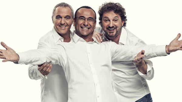 Panariello conti pieraccioni 600x337 - PANARIELLO-CONTI-PIERACCIONI: a marzo lo spettacolo del trio toscano arriva nei Palasport di tutta Italia