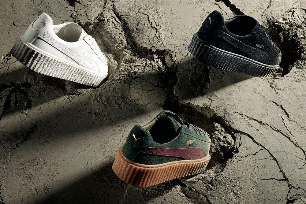Creeper Trio Vertical - PUMA e Rihanna presentano tre nuove colorazioni della Creeper