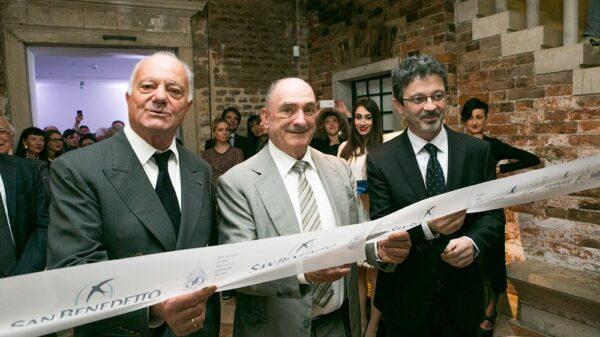 Taglio del nastro 600x337 - Acqua Minerale San Benedetto compie 60 anni
