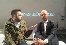 Andrea Fiaschetti (a destra) intervistato dal direttore di Lifestyleblog.it Bruno Bellini
