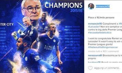 Anche Instagram celebra l'impresa del Leicester 16 Anche Instagram celebra l'impresa del Leicester