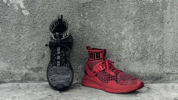 IGNITE evoKNIT RedBlack 600x337 - PUMA presenta la nuova running sneaker IGNITE evoKNIT