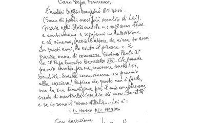 """Lino Banfi a Famiglia Cristiana: """"Vorrei conoscere Papa Francesco ed essere nominato giullare ufficiale"""" 40 Lino Banfi a Famiglia Cristiana: """"Vorrei conoscere Papa Francesco ed essere nominato giullare ufficiale"""""""