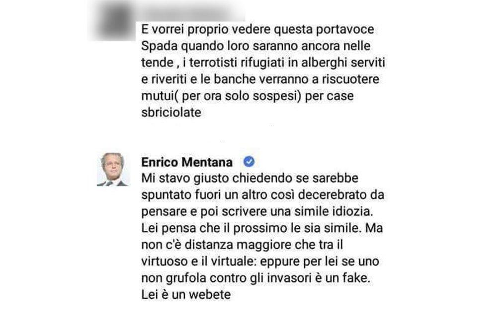 Enrico Mentana inventa il
