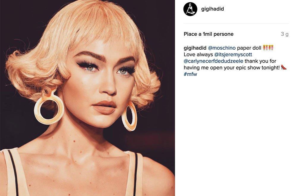 Milano Fashion Week: Gigi Hadid la regina delle sfilate e di Instagram 7 Milano Fashion Week: Gigi Hadid la regina delle sfilate e di Instagram