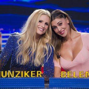 Belen Rodriguez e Michelle Hunziker- Striscia la Notizia