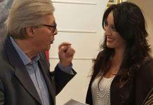 """L'artista Francesca De Bartolo, in arte Mistral, ha presentato alla Galleria della Tartaruga la mostra personale intitolata """"Caput Mundi"""""""