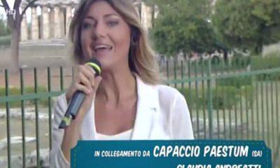 Claudia Andreatti, volto nuovo di Mezzogiorno in Famiglia. L'intervista 7 Claudia Andreatti, volto nuovo di Mezzogiorno in Famiglia. L'intervista