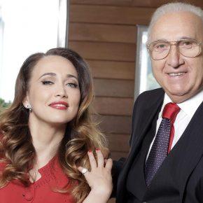 Domenica IN: Pippo Baudo e Chiara Francini