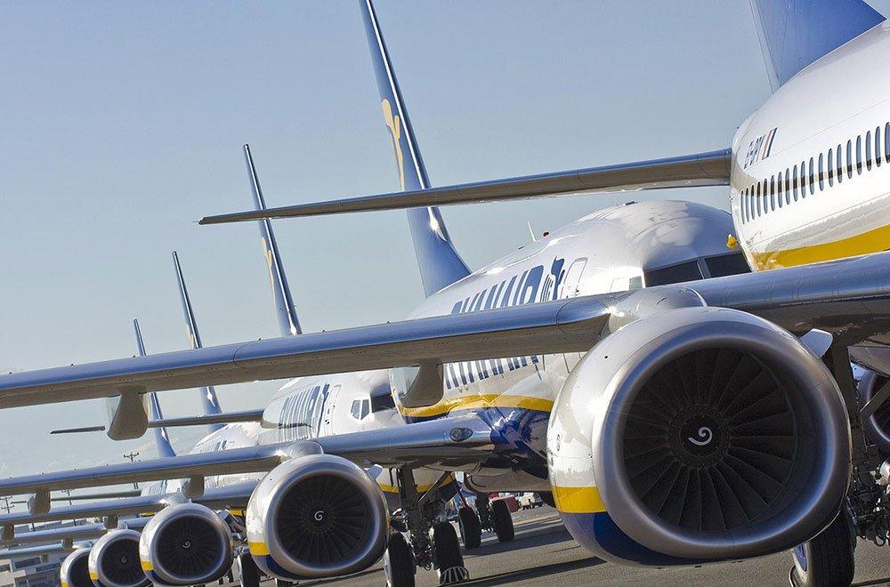 Ryanair, compagnia aerea voli low cost