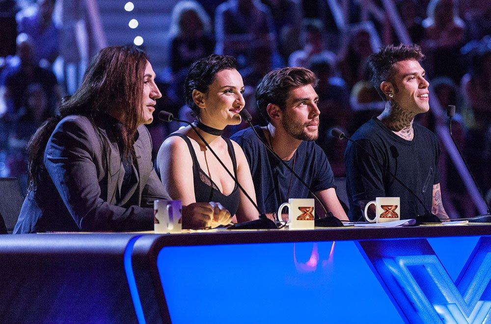X Factor 2016: la giuria