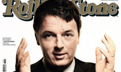 Matteo Renzi in copertina su Rolling Stone 25 Matteo Renzi in copertina su Rolling Stone