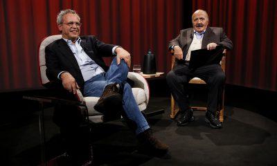 Maurizio Costanzo ed Enrico Mentana