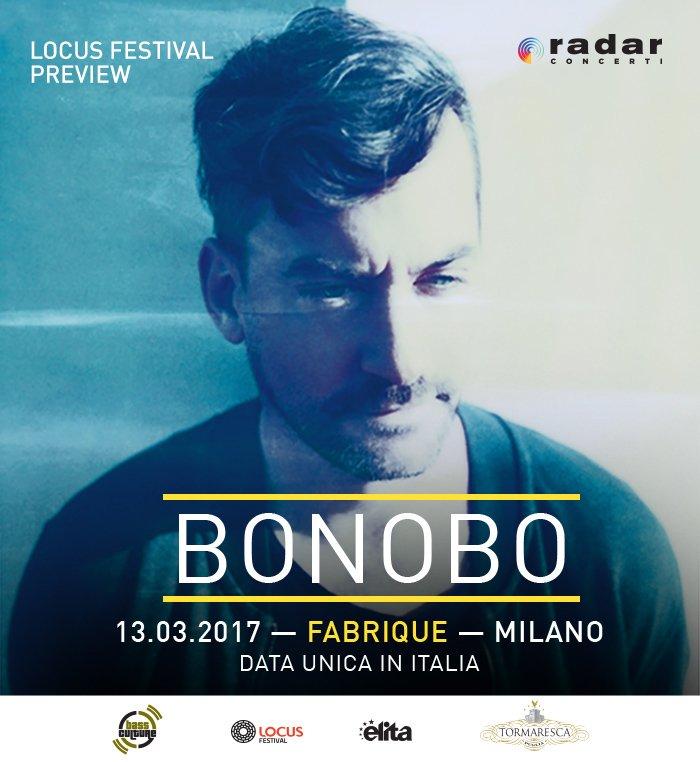 Locus festival preview: BONOBO live a Milano il 13 marzo 32 Locus festival preview: BONOBO live a Milano il 13 marzo