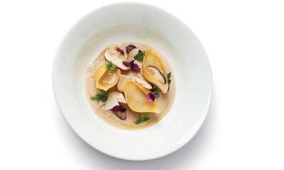 Lumaconi ripieni di Gorgonzola dolce DOP con crema di funghi 70 Lumaconi ripieni di Gorgonzola dolce DOP con crema di funghi