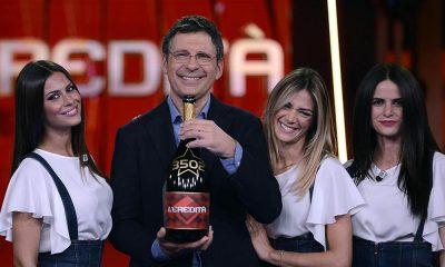 L'Eredità diventa il quiz più longevo della tv italiana 62 L'Eredità diventa il quiz più longevo della tv italiana