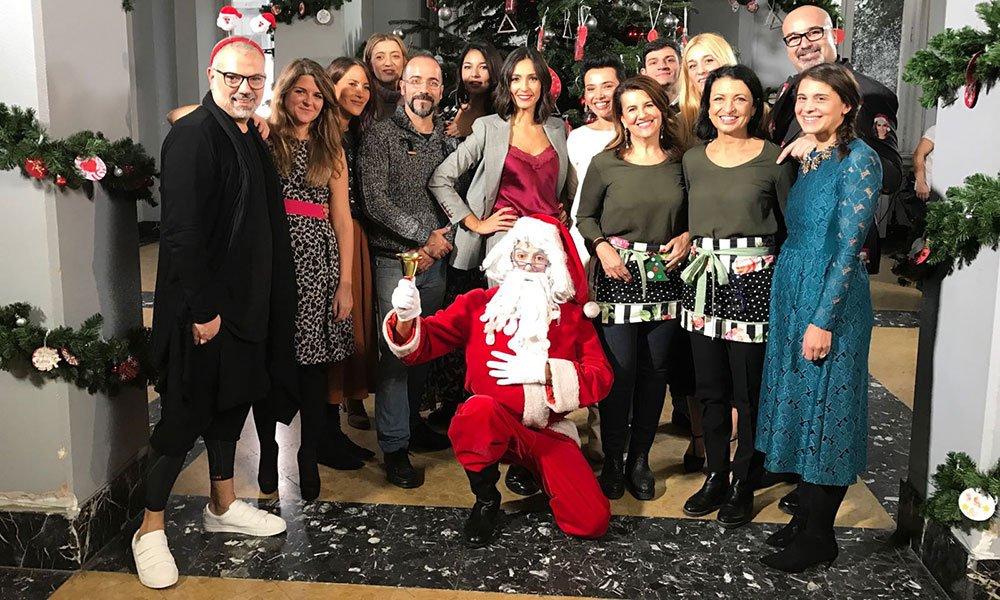 Albero di Natale Detto Fatto - Caterina Balivo accende l'albero di Detto Fatto