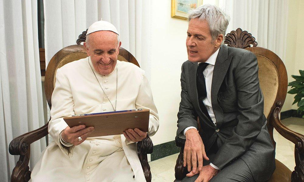 Rai Uno, Avrai: concerto in Vaticano di Claudio Baglioni