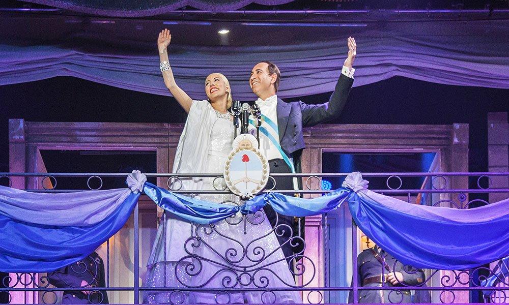 sistina malika ayane - Malika Ayane e Filippo Strocchi fanno rivivere il mito di Evita al Teatro Sistina di Roma.