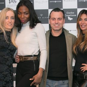 ALVIERO MARTINI: numerose celebrities insieme per il Made in Italy 7 ALVIERO MARTINI: numerose celebrities insieme per il Made in Italy