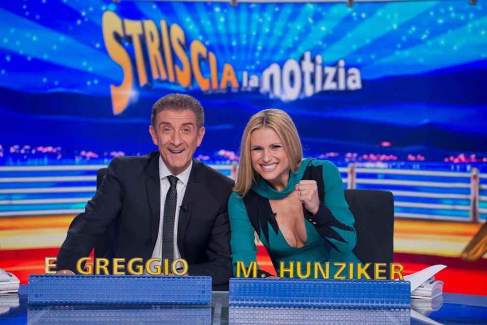 Michelle Hunziker torna a Striscia la Notizia 32 Michelle Hunziker torna a Striscia la Notizia
