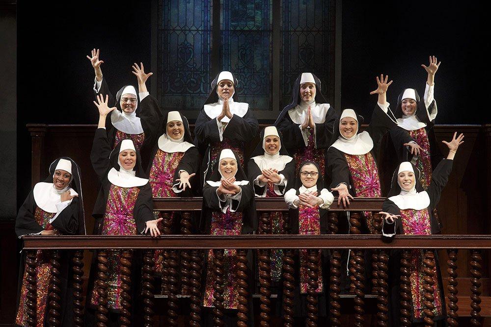 """SISTERACT IlMusical foto1 SuorCristina - Al Teatro Brancaccio di Roma torna la magia del musical """"Sister Act"""""""