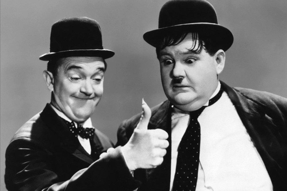 90 ANNI DI RISATE: Stan Laurel & Oliver Hardy 34 90 ANNI DI RISATE: Stan Laurel & Oliver Hardy