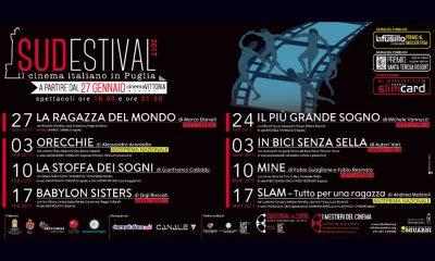 Cinema: il Sudestival compie 18 anni: dal 27 gennaio al 17 marzo a Monopoli 17 Cinema: il Sudestival compie 18 anni: dal 27 gennaio al 17 marzo a Monopoli