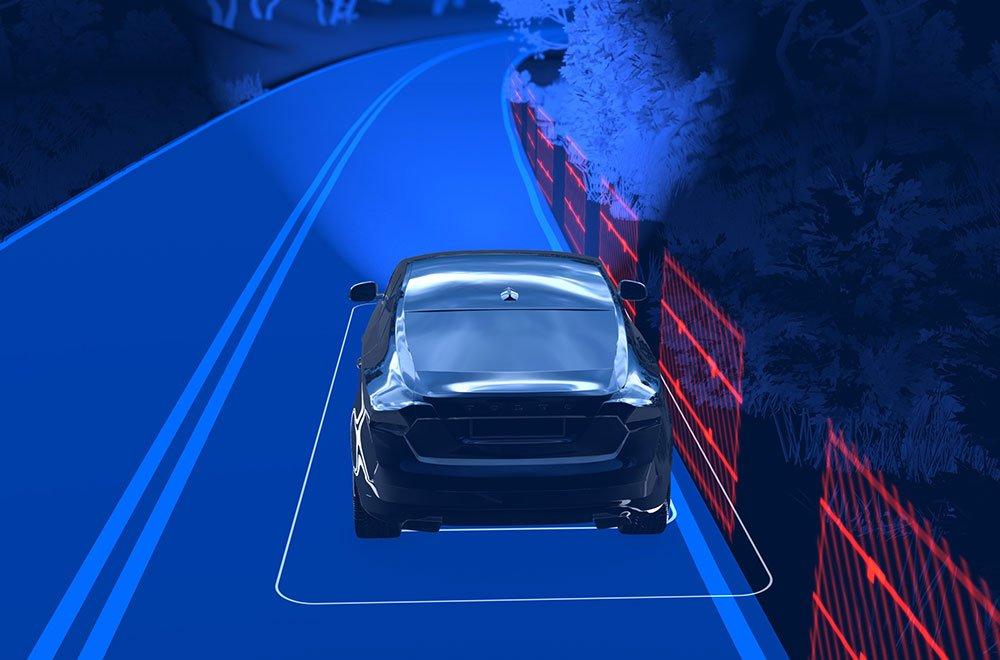 170167 Road Edge Mitigation - La nuova Volvo XC60 SUV: le novità