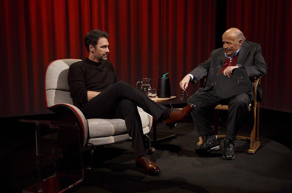 COSTANZO E BOVA 5AC7673 - Raoul Bova protagonista de L'intervista di Maurizio Costanzo