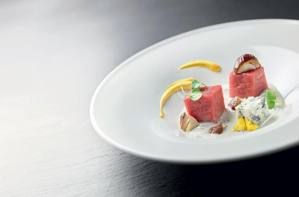 La ricetta di chef Cannavacciuolo: Tartare di carne, funghi & Gorgonzola DOP 7 La ricetta di chef Cannavacciuolo: Tartare di carne, funghi & Gorgonzola DOP