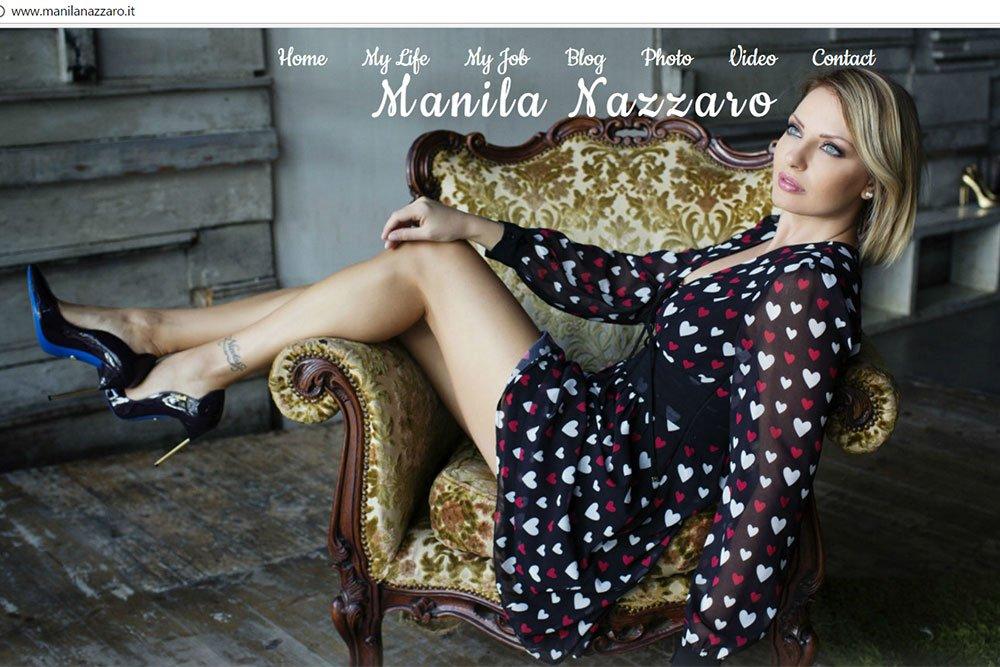 Nuovo sito web per Manila Nazzaro 5 Nuovo sito web per Manila Nazzaro