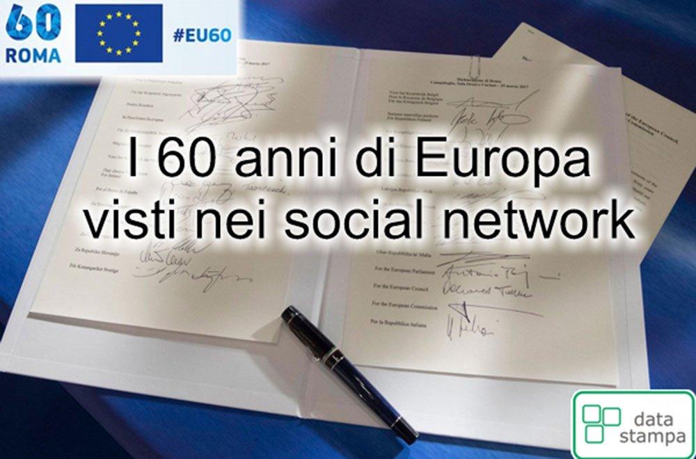 I 60 anni di Europa visti nei social network 18 I 60 anni di Europa visti nei social network