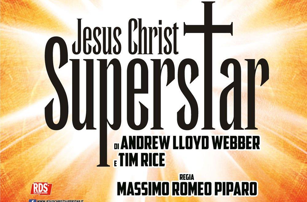 "Locandina JCS Sistina - La Pasqua al Sistina è con ""Jesus Christ Superstar"""