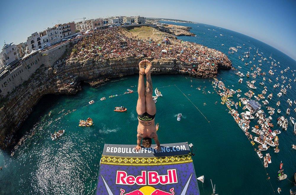 Red Bull Cliff Diving World Series Alessandro De Rose Calendario Settembre Le Date Dei