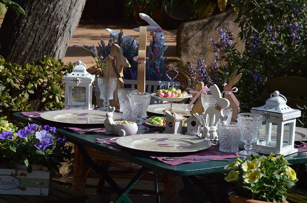 IMG 0474 - La tavola di Pasqua realizzata dalla Wedding Planner MARIANGELA DE BIASE