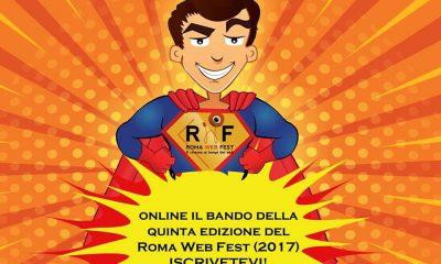 Al via la quinta edizione del Roma Web Fest 42 Al via la quinta edizione del Roma Web Fest